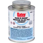 Oatey 30893 PVC Rain-R-Shine Blue Cement 16 oz. - Pkg Qty 24