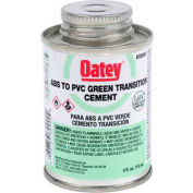 Oatey 30900 ABS To PVC Transition Green Cement 4 oz. - Pkg Qty 24