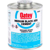 Oatey 30915 ABS Medium Black Cement 1 Gallon - Pkg Qty 6