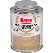 Oatey 31012 PVC Regular Clear Cement 4 oz. - Pkg Qty 24