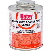 Oatey 31084 CPVC Heavy Duty Orange Solvent Cement - Wide Mouth Can 1 gallon - Pkg Qty 6
