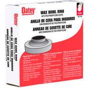 Oatey 31193 Heavy Duty Wax Bowl Ring with Sleeve - Pkg Qty 24