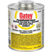 Oatey 31914 All Weather CPVC FlowGuard Gold 1-Step Yellow Cement 1 gallon - Pkg Qty 6