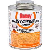 Oatey 32168 Orange Lava CPVC Cut-In Cement 8 oz. - Pkg Qty 24