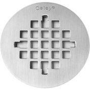 "Oatey 42136 Round Snap-Tite Strainer White Plastic 4-1/4"" - Pkg Qty 12"