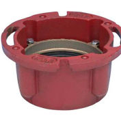 "Oatey 42257 4"" X 4"" Cast Iron Closet Flange Without Test Cap - Pkg Qty 8"