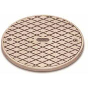 """Oatey 42368 180B Brass Clean Out Frame & Cover 6"""" - Pkg Qty 12"""