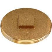"Oatey 42374 185 Brass Cleanout Plug 4"" - Pkg Qty 12"