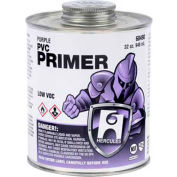 Hercules 60483 PVC Primer-Purple- Dauber In Cap 8 oz. - Pkg Qty 12