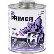 Hercules 60485 PVC Primer-Purple- Dauber In Cap 16 oz. - Pkg Qty 12