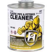 Hercules 60664 Plastic Pipe And Fittings Cleaner - Clear- Dauber In Cap 16 oz. - Pkg Qty 12