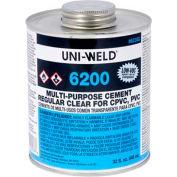 Oatey 6246S 6200 Series Multi Purpose Clear Cement 16 oz. - Pkg Qty 24