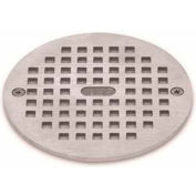 "Oatey 80060 5"" Round Nickel Grate & Ring"