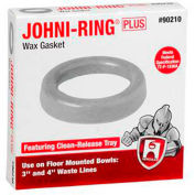"Hercules 90243 3"" or 4"" Johni-Rings- Back Outlet Toilets - Jumbo Size - Pkg Qty 24"