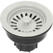 Oatey 9WH Plastic Strainer Assembly- White - Clamshell - Pkg Qty 6
