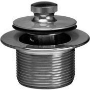 Dearborn Brass K25TBZ Bath Waste Trim for Sch 40 Rough In Kit Uni Lift Stp Zinc Drain Chr Finish - Pkg Qty 10