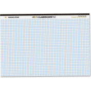 "Roaring Spring® Landscape Writing Pad 74505, 11"" x 9-1/2"", White, 40 Sheets/Pad, 1/Pack"