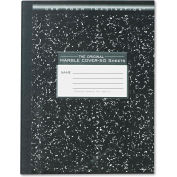 """Roaring Spring® Marble Cvr Composition Book 77910, 9-3/4"""" x 7-1/2"""", White, 50 Sheets/Pad"""