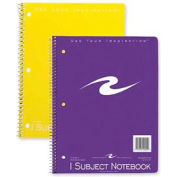 "Roaring Spring® 1-Subject Spiral Bound Notebook, 8"" x 10-1/2"", College Ruled, 70 Sheets/Pad"