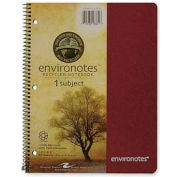 """Roaring Spring® Environotes 1-Subject Notebook, 8-1/2"""" x 11"""", College Ruled, 80 Sheets/Pad"""
