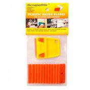 Scraperite Plastic Razor Blades with General Purpose Holder, 25 Pack - SR 25 GPOE