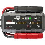 NOCO Genius Boost HD 2000 Amp UltraSafe Lithium Jump Starter - GB70