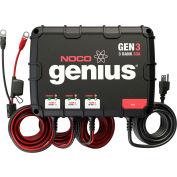 NOCO Genius 30 Amp 3-Bank Waterproof Onboard Battery Charger - GEN3