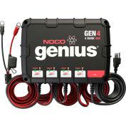 NOCO Genius 40 Amp 4-Bank Waterproof Onboard Battery Charger - GEN4