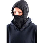 Premium Flame Resistant 3-In-1 Fleece Balaclava, Black