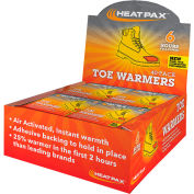Occunomix Heat Pax Toe Warmers 40-Pack Display 1106-40D
