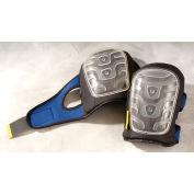Premium Flat Cap Gel Knee Pads, Clear