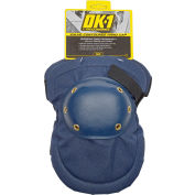Value Contoured Hard Cap Knee Pads, 1 Pair, Blue