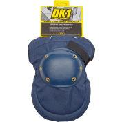 OccuNomix Value Contoured Hard Cap Knee Pads 1 Pair, Blue
