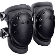Wide Cap Knee Pad 226-D, 1 Pair, Black
