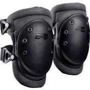 Wide Cap Knee Pad 226-D, 1 Pair, Black