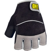 Classic Terry Back Padded Gloves, Black, Large