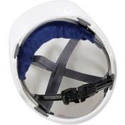 MiraCool® Snap-On Hard Hat Sweatband, Navy
