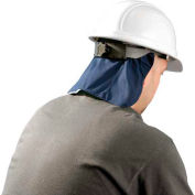 MiraCool® Deluxe Hard Hat Pad With Shade, Gray, 10 pack - Pkg Qty 10