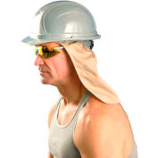 Hard Hat Sweatband w/Neck Shade, Khaki