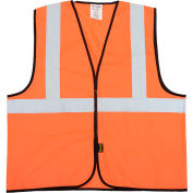 Class 2 Solid Vest, Hi-Vis Orange 2XL/3XL