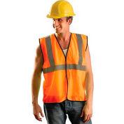 Value Mesh Standard Vest, Hi-Vis Orange, 2/3 XL