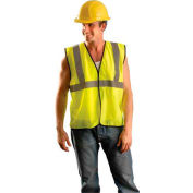 Value Mesh Standard Vest, Hi-Vis Yellow, 2/3 XL