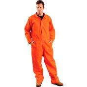 OccuNomix Classic Indura Flame Resistant Coverall Orange, 4XL, G909IOR-4X