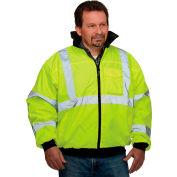 Hi-Vis Value Bomber Jacket, Hi-Vis Yellow, L