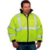 Hi-Vis Value Bomber Jacket, Hi-Vis Yellow, XL
