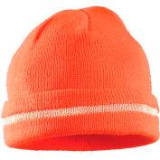 Hi-Vis Knitted Cap, Hi-Vis Orange
