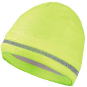 Hi-Vis Knitted Caps, Hi-Vis Yellow