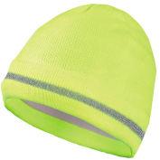 Hi-Vis Knitted Caps, Hi-Vis Yellow