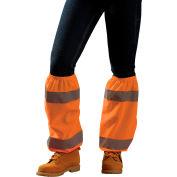 Occunomix LUX-SG -O Value Leg Gaiter Reflectors Hi-Viz Orange