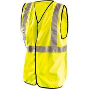 Economy Single Band Vest, Hi-Vis Yellow 5XL